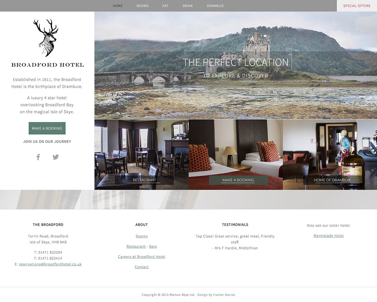 Broadford Hotel – Isle of Skye