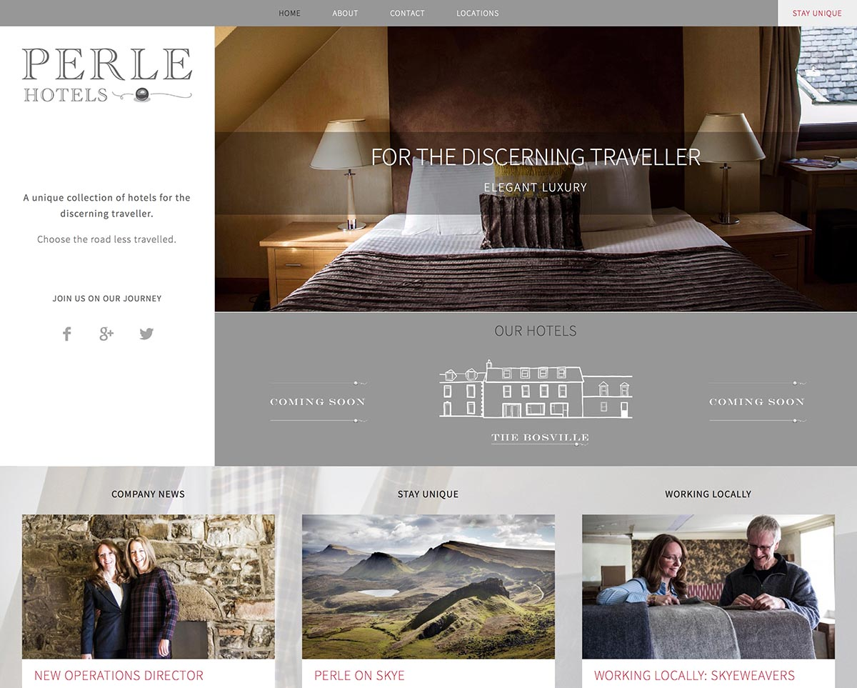 Perle Hotels – A unique collection of hotels for the discerning traveller