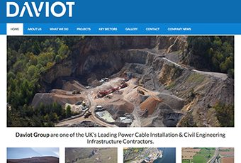 Skye Websites, Projects, The Daviot Group