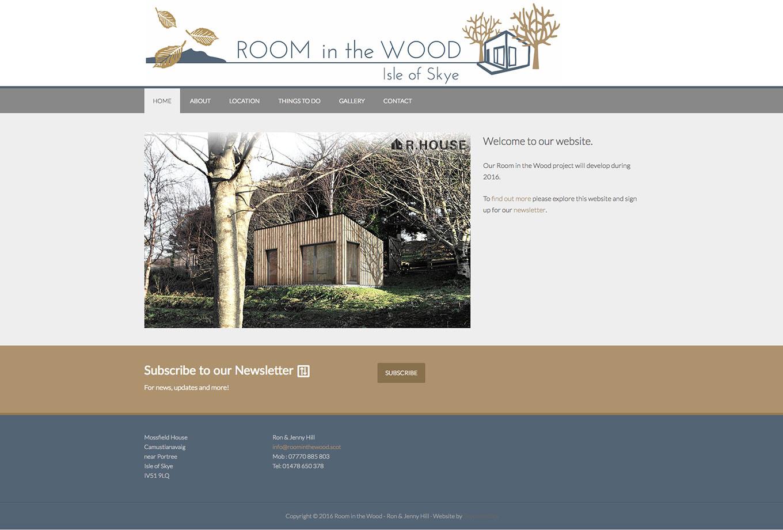 Room In The Wood, Isle of Skye , Skye Websites