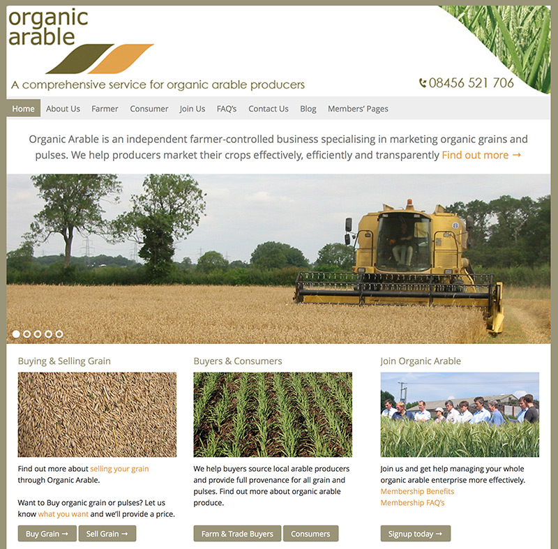 orangic-arable-website