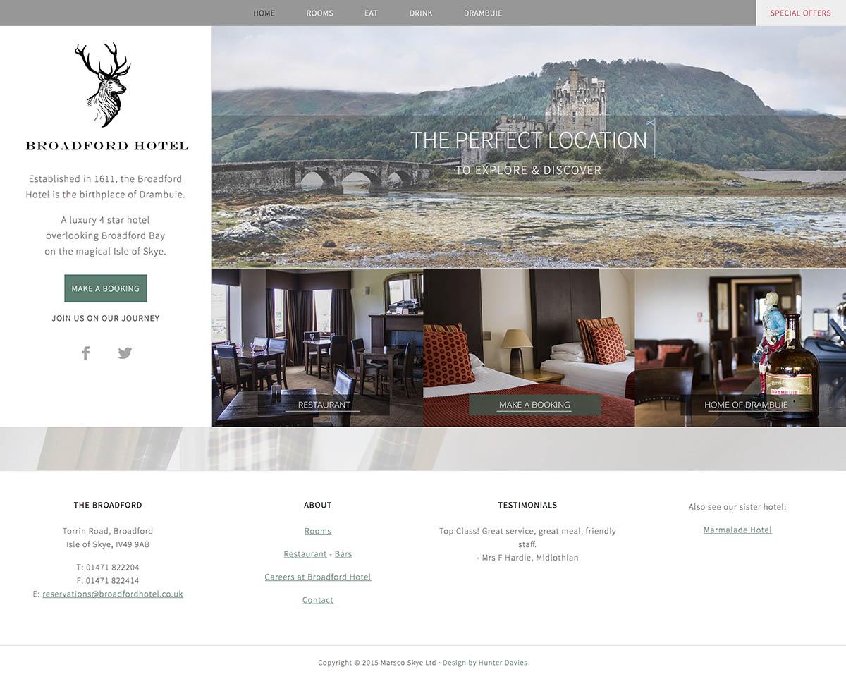 Broadford Hotel – Isle of Skye