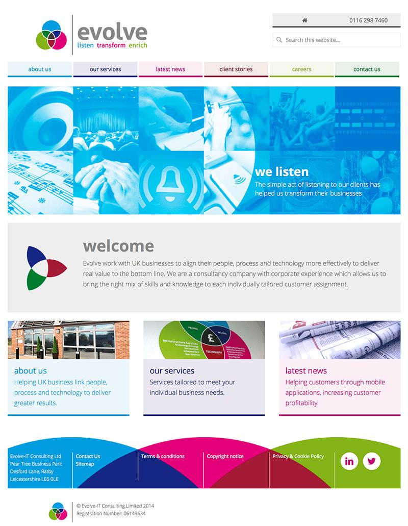 evolve-it-consultants-website