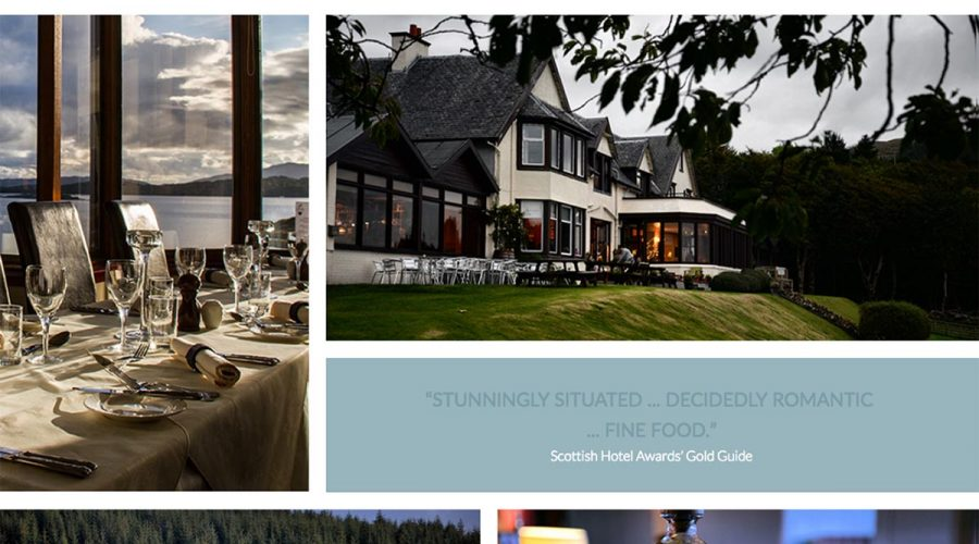 Skye Websites, Loch Melfort Hotel, Overview