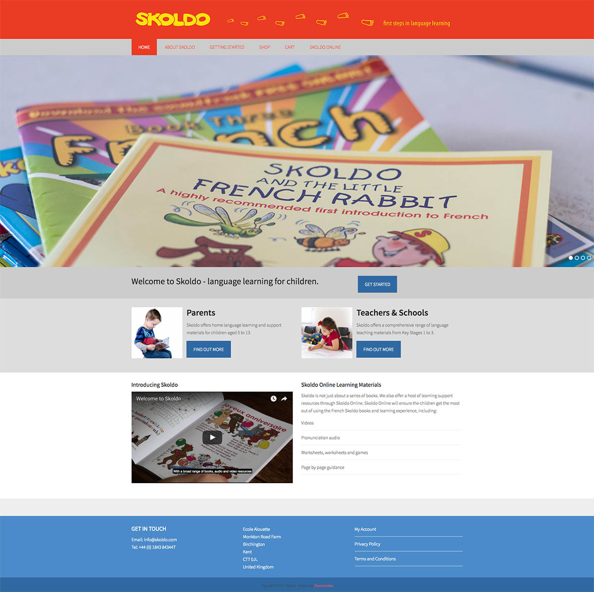 Skyewebsites Skoldo Home Page