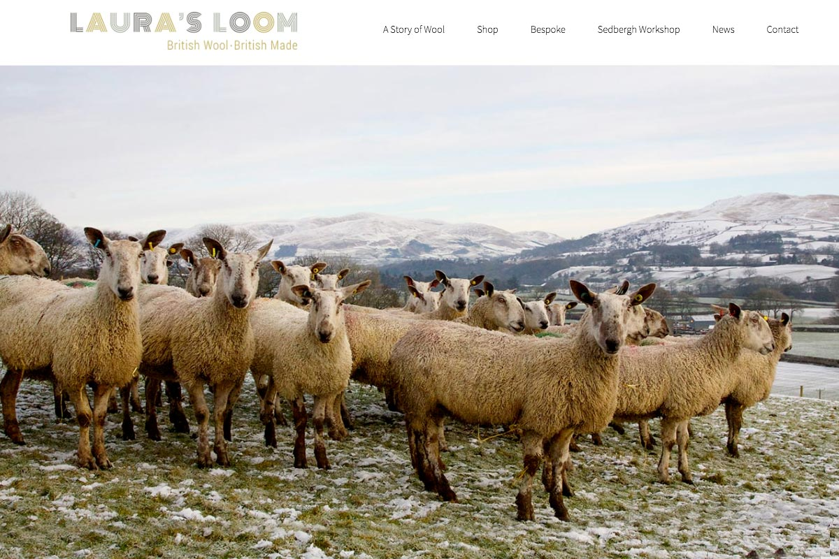 Skye Websites, Laura's Loom, Home